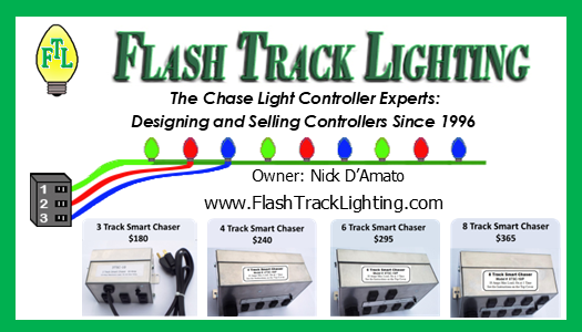Flash Track Lighting: The Chase Light Controller Experts